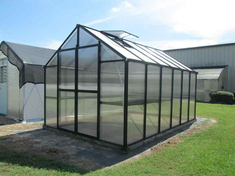 Riverstone Monticello Greenhouse 8x12 - Premium Package
