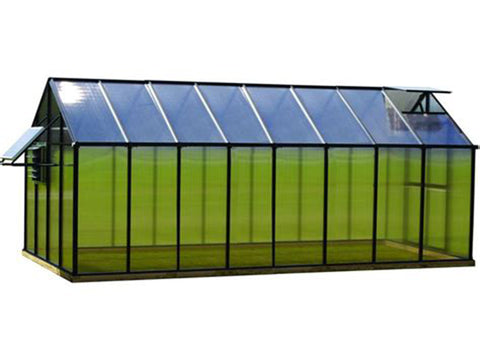Riverstone Monticello Greenhouse 8x16 - Mojave Package
