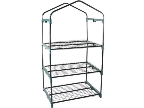 Three layer Genesis Portable Rolling Greenhouse framework
