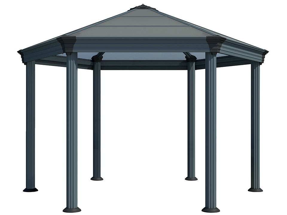 Bare Roma Garden Gazebo - white background