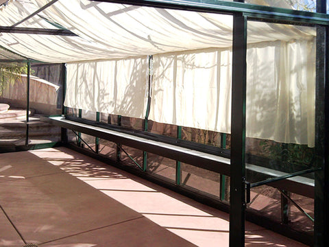 Image of Premium Kit of the Janssens Royal Victorian VI46 Greenhouse 13ft x 20ft includes shade cloths and shelves