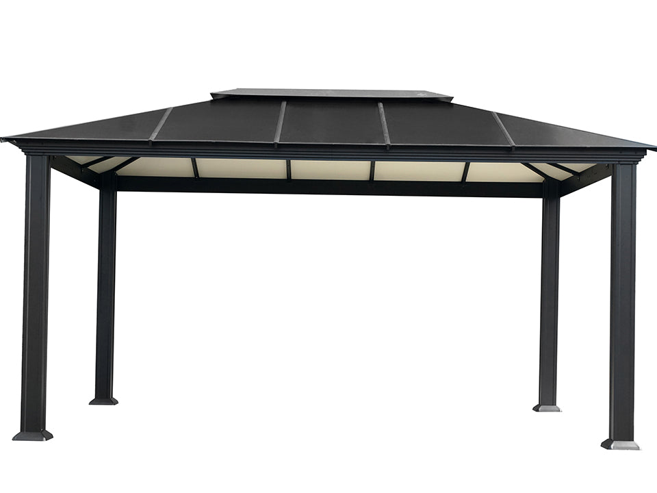 Santa Monica 11x16 Hard Top Gazebo