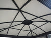 Image of Santa Monica 11x16 Hard Top Gazebo roof interior