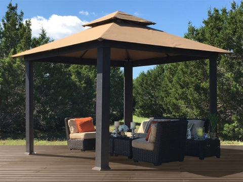 Savannah Gazebo with Cocoa Top