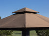 Image of Savannah Gazebo with Cocoa Top