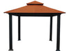 Image of Savannah Gazebo with Rust Top