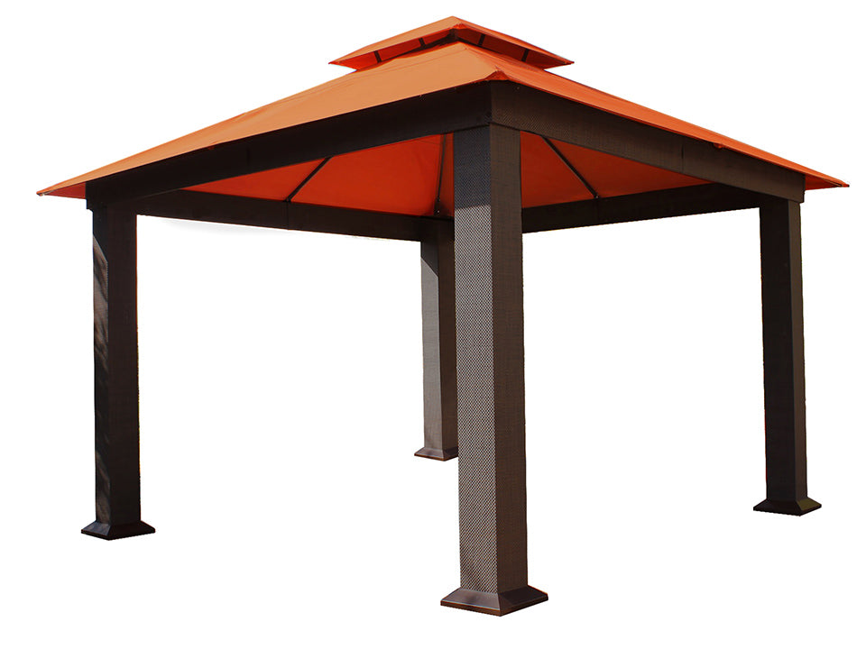 Seville Gazebo with Rust Top 12ft x 12ft