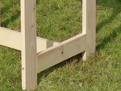 Image of Wooden Utility Side Table Kit - bottom view