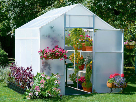 Image of Solexx  8ft x 8ft Garden Master Greenhouse G-508
