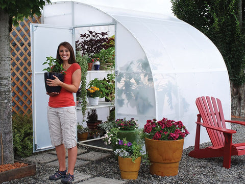 Image of Solexx  8ft x 8ft Harvester Greenhouse G-408