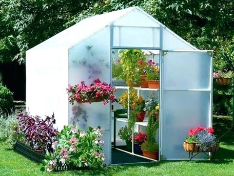 Image of Solexx 8ft x 12ft Garden Master Greenhouse G-512