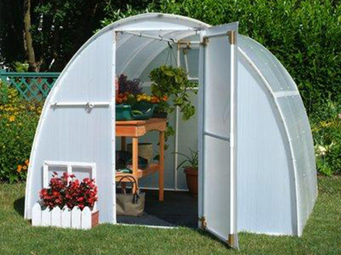 Solexx  8ft x 8ft Early Bloomer Greenhouse G-108