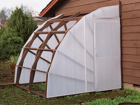 Solexx Greenhouse Covering Rolls installed to a greenhouse