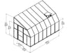 Image of Rion 8ft x 14ft Sun Room 2 Greenhouse - HG7614 - full view of framework with dimensions