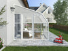 Image of Rion 8ft x 8ft Sun Room 2 Greenhouse - HG7608 - side view