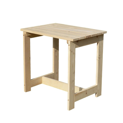 Image of Wooden Utility Side Table Kit - White Background