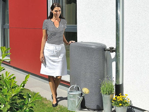 Image of Terranova Oval Rain Barrel