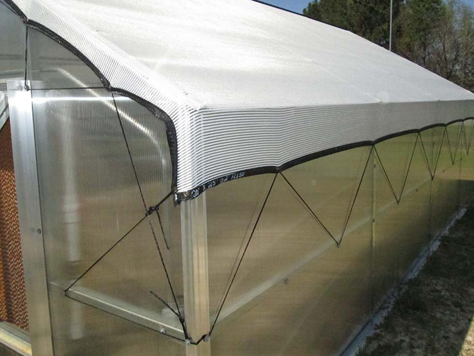 Riverstone Industries (RSI) 16ft x 24ft Wallace Premium Edition Educational Greenhouse R16248-P(G) - shade cloth