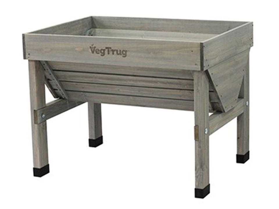 Small Grey Wash colored VegTrug