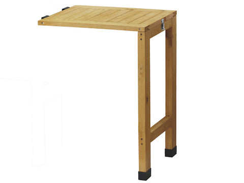 VegTrug WallHugger Side Table - natural