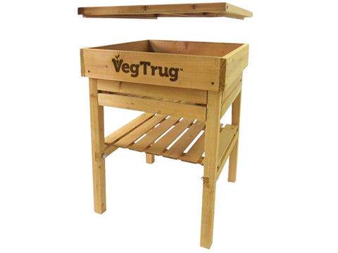 VegTrug Kids Work Bench - Natural FSC 100% - Open Compartment