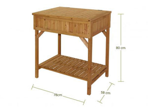 VegTrug Workbench Dimensions