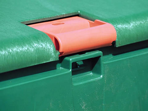 Aeroquick Composter Lid Locking Mechanism
