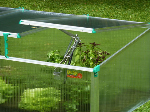 Automatic opener and one height adjuster of the BioStar 1500 Premium Cold Frame from Juwel