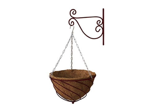 Sage Green Colored VegTrug Hanging Basket Planter