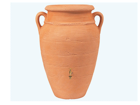 Image of Roman Rain Barrel with Planter