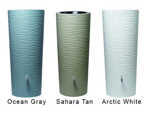 Image of Wave Barrel Colors - Ocean Gray, Sahara Tan, and Arctic White