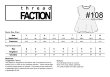 Load image into Gallery viewer, #108 - instant download PDF sewing pattern