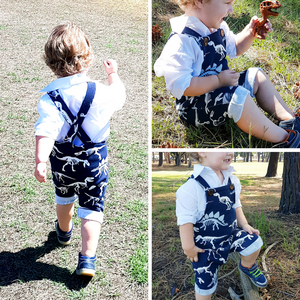 #113 Unisex Harem Romper - Instant download PDF Sewing Pattern
