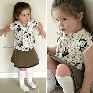 #117 Bow Blouse- Instant download PDF Sewing Pattern