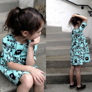 #118 Autumn Dress- Instant download PDF Sewing Pattern