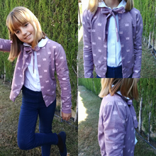 Load image into Gallery viewer, #119 Puff Sleeve Cardigan- Instant download PDF Sewing Pattern