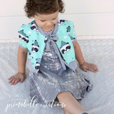 #119 Puff Sleeve Cardigan- Instant download PDF Sewing Pattern