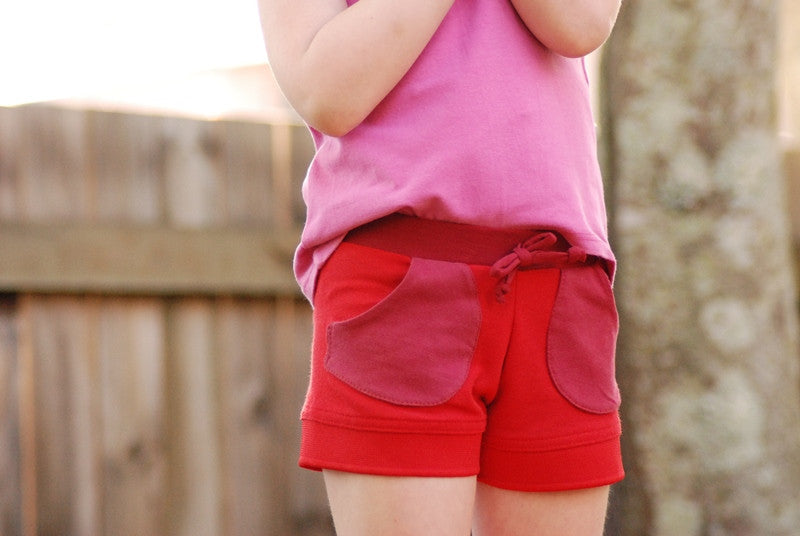 T-Shirt to Shorts/Skort - FREE instant download PDF sewing pattern