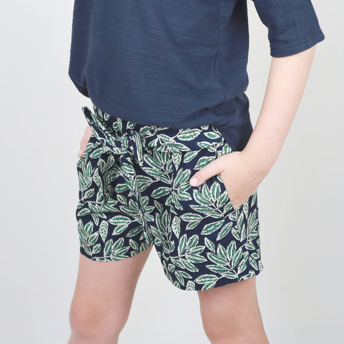 Zero Waste Bow Shorts Pattern