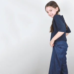 Zero Waste Wide Leg Pants Pattern