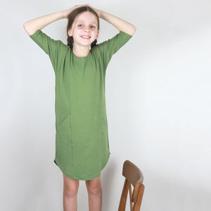 Zero Waste Dolman Sweater Dress Pattern