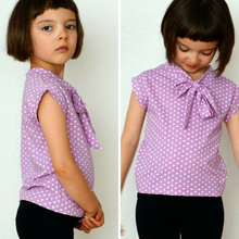 Load image into Gallery viewer, #117 Bow Blouse- Instant download PDF Sewing Pattern