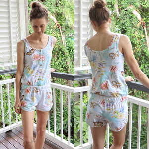 #207 Ladies Retro Romper - Instant download PDF Sewing Pattern