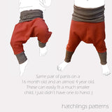 P is for Pirate Pants - Instant download PDF Sewing Pattern