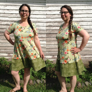 #205 Ladies Everyday Swing Dress- Instant download PDF Sewing Pattern