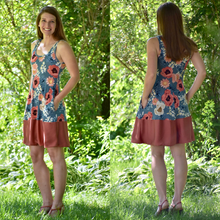 Load image into Gallery viewer, #205 Ladies Everyday Swing Dress- Instant download PDF Sewing Pattern