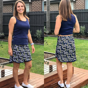 #208 Ladies Casual skirt - Instant download PDF Sewing Pattern