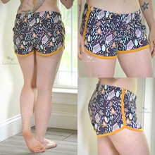Load image into Gallery viewer, #206 Ladies Retro Gym Shorts - Instant download PDF Sewing Pattern