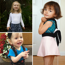 Load image into Gallery viewer, #112 Grow-with-me Suspender Skirt - Instant download PDF Sewing Pattern