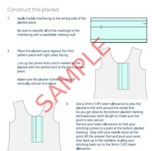 Load image into Gallery viewer, Zero Waste Pinafore Pattern